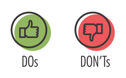 """Successful Investment – the """"DO´s and the DON´Ts"""""""